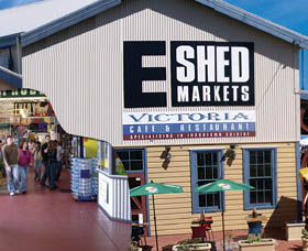 The E Shed Markets - Stayed